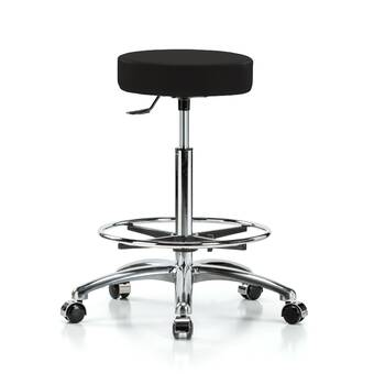 Perch Chairs Stools Height Adjustable Lab Work Stool With Foot Ring Wayfair