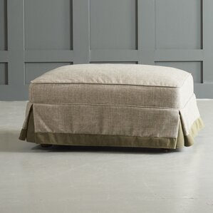 Arly Ottoman with Trim by DwellStudio