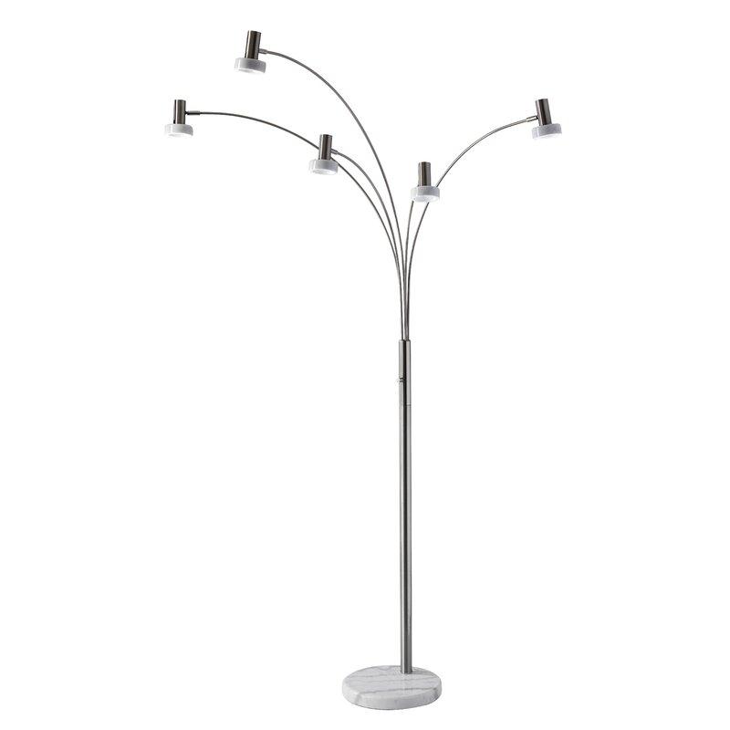 Raina 76 Quot Led Tree Floor Lamp Allmodern