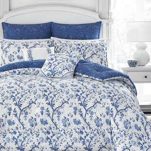Elise 100% Cotton Comforter Set by Laura Ashley Ho by Laura Ashley
