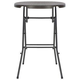 Askins Folding Steel Bar Table By Sol 72 Outdoor
