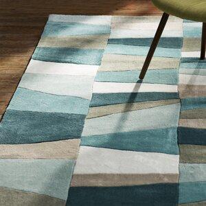 Carlotta Dried Oregano/Sea Blue Area Rug