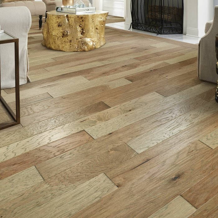 Belmont Hickory 1 20 Thick X 5 Wide X Varying Length Engineered Hardwood Flooring