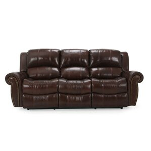 Gretna Leather Reclining Sofa by Wildon Home ?