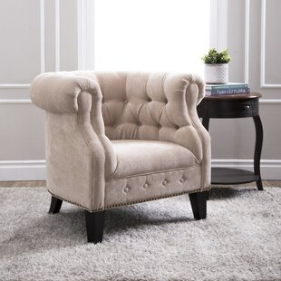 Willa Arlo Interiors Alvy Chesterfield Chair