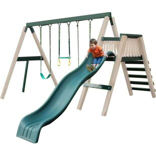Kidwise Congo Swing and Monkey 3 Position Swing Set