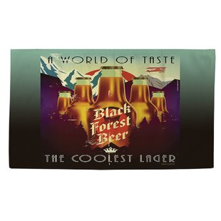 Coupon Black Forest Beer Gold Area Rug ByManual Woodworkers & Weavers