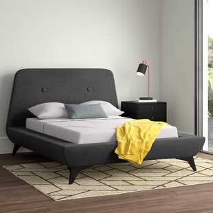 Dorinda Upholstered Bed Frame By Hykkon