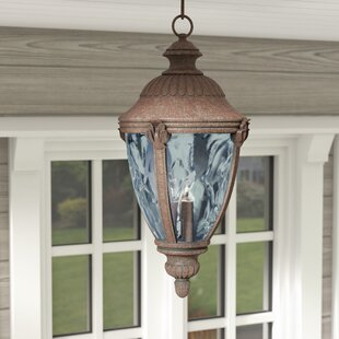 Astoria Grand Jarrett 3-Light Outdoor Hanging Lantern