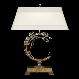Crystal Laurel 31 Table Lamp