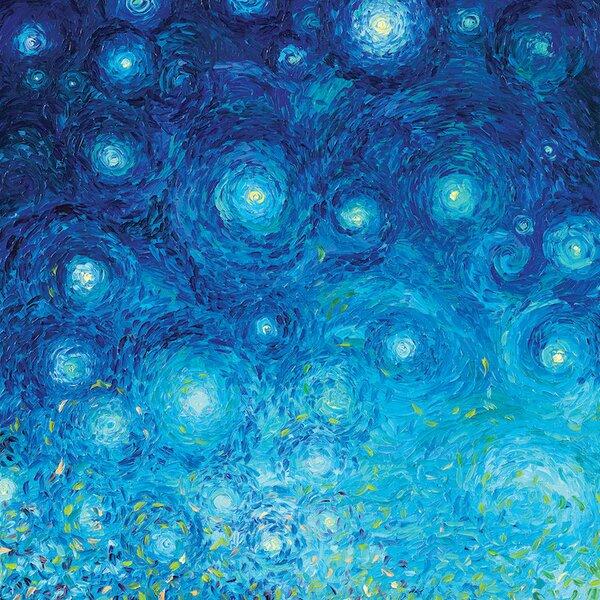 East Urban Home Iris Scott Thirsty Koi Triptych Panel I Painting Print On Wrapped Canvas Wayfair
