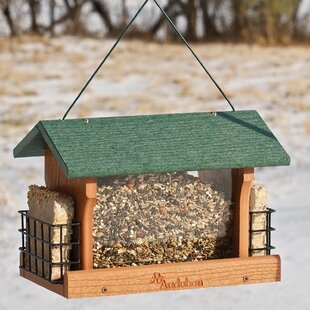 Eila Green Roof Hopper Bird Feeder By Archie & Oscar