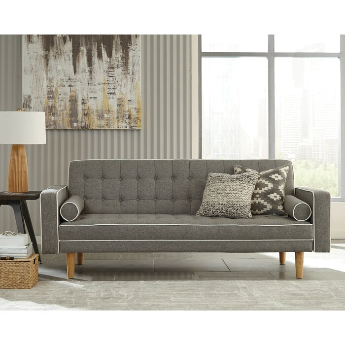 Tremendous Griego Twin Or Smaller Tufted Back Convertible Sofa Bralicious Painted Fabric Chair Ideas Braliciousco