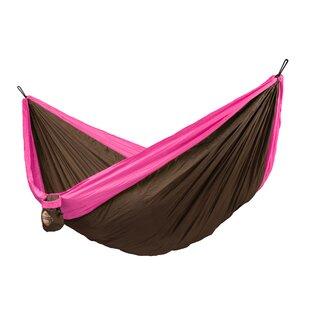 Colibri Double Travel Nylon Camping Hammock by LA SIESTA