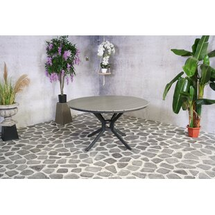 Haddonfield Aluminium Dining Table By Sol 72 Outdoor