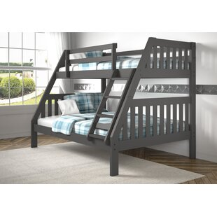 Dubbo Bunk Twin Over Full Bed by Harriet Bee Wonderful