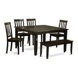 Teressa 6 Piece Dining Set by Alcott Hill®