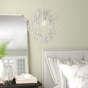 Jordy 1-Light Crystal Pendant by Birch Lane? Heritage