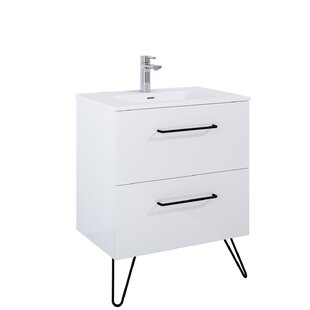 Annica 708mm Free-standing Single Vanity Unit By Mercury Row