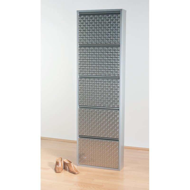 Caruso 10 Pair Shoe Storage Cabinet