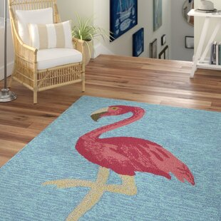 Brianna Handmade Blue Indoor/Outdoor Area Rug