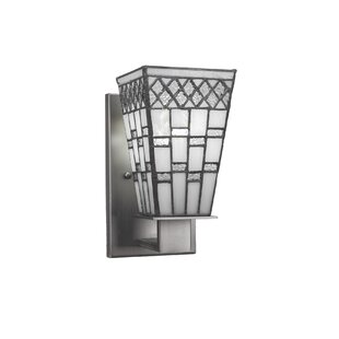 Comparison Eurig 1-Light Wall Sconce By Loon Peak