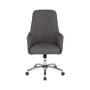 Dull Upholstered High Back Office Chair