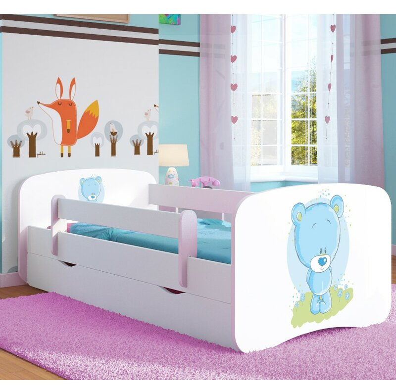 Willeford Convertible Toddler Bed with Drawer