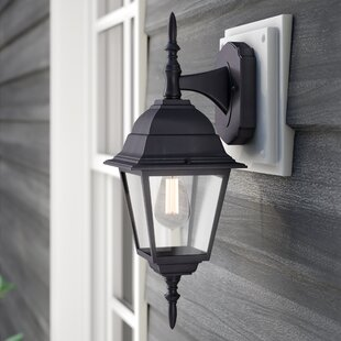 Ledbetter Modern 1-Light Outdoor Wall Lantern
