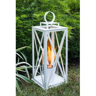 Madison Metal Lantern by Terra Flame