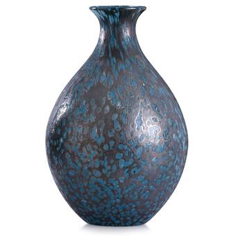 Cyan Design Blue Glass Table Vase Reviews Wayfair