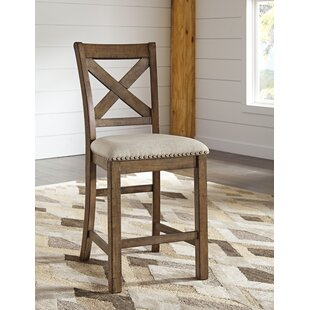 Hillary 24.5'' Bar Stool (Set of 2) by Laurel Foundry Modern Farmhouse