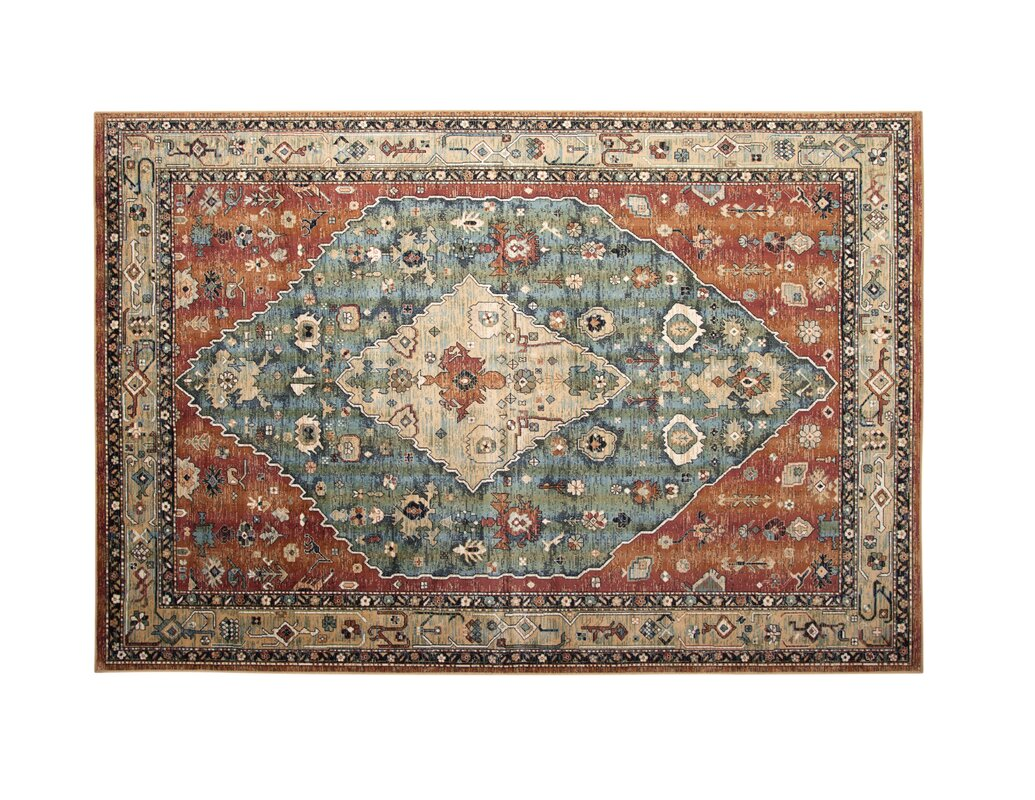 Admire Home Living Amalfi Flora Area Rug - Free Shipping Today -  Overstock.com - 14805900