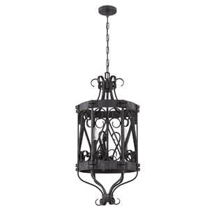 Ophelia & Co. 3-Light Lantern Pendant