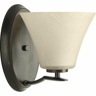 Karla Modern 1-Light Bath Sconce by Fleur De Lis Living