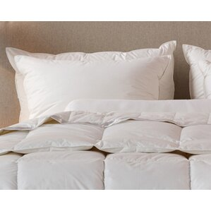Cotton Tri-Compartmented Sleeping Feathers Pillow by Down Inc.