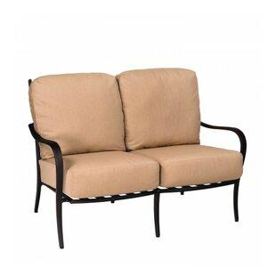 Woodard Apollo Loveseat with Cushions