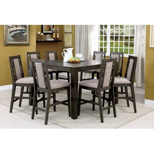Affordable Jennings Stewart 9 Piece Counter Height Dining Set By Darby Home Co