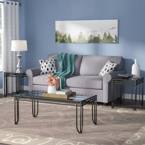 Myra 3 Piece Coffee Table Set