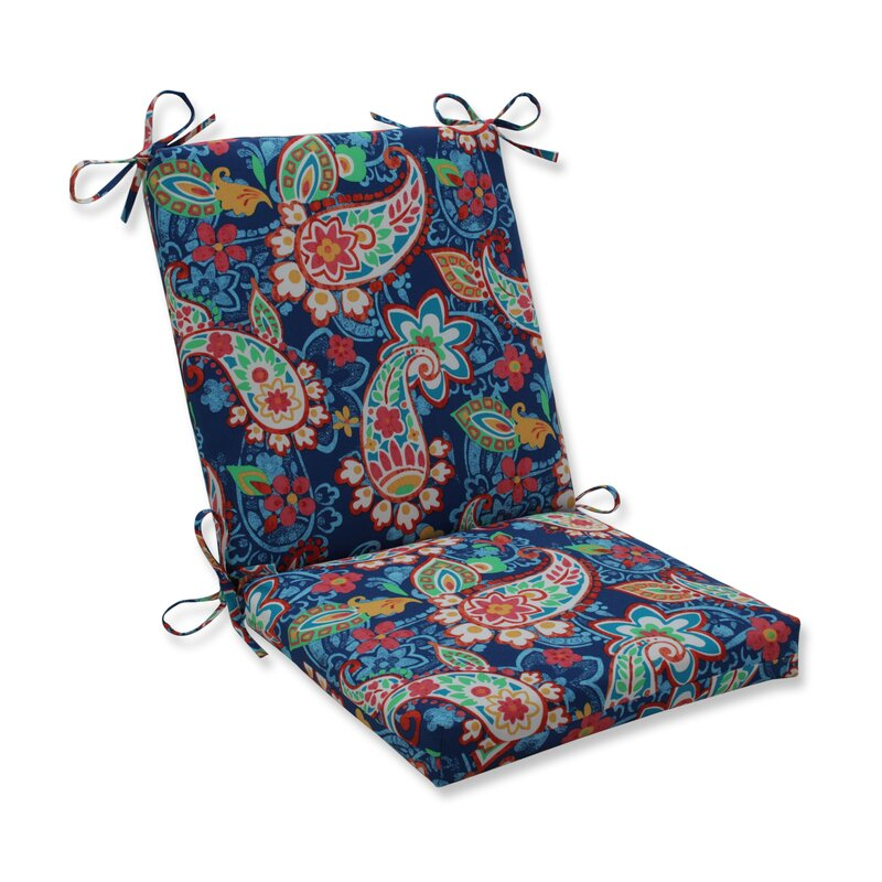 Winston Porter Paisley Party Indoor Outdoor Dining Chair Cushion Wayfair