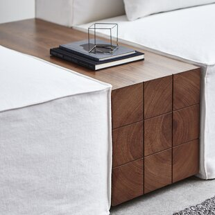 Mix Block End Table