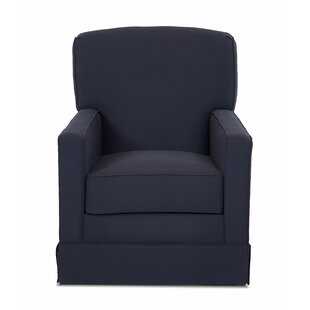 Darby Home Co Denning Swivel Glider