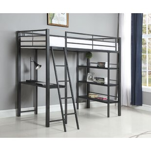 Sessoms Twin Workstation Loft Bed