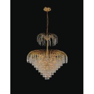 CWI Lighting Palm Tree 11-Light Chandelier