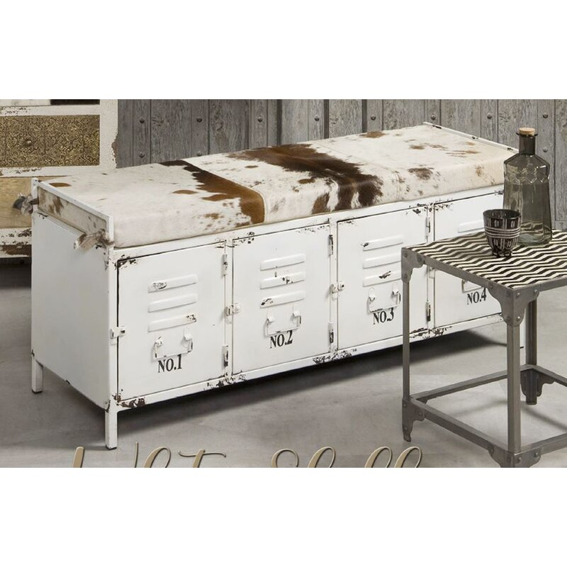 Nach Metal Storage Bench Wayfair