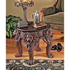 Lord Raffles Lion Leg End Table by Design Toscano
