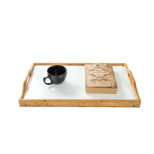 Bamboo Folding Bed and Laptop Tray With Handles
