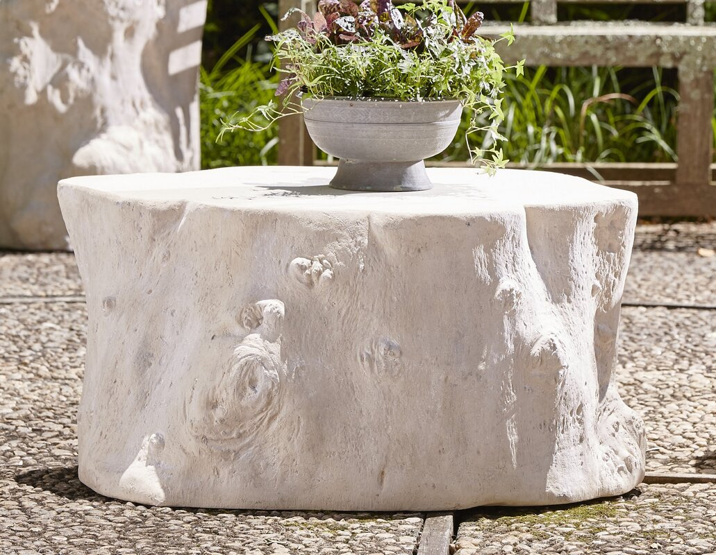 Log Roman Stone Coffee Table By Phillips Collection High