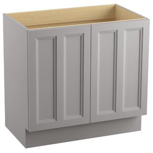 Damask? 36 Vanity with Toe Kick and 2 Doors by Kohler