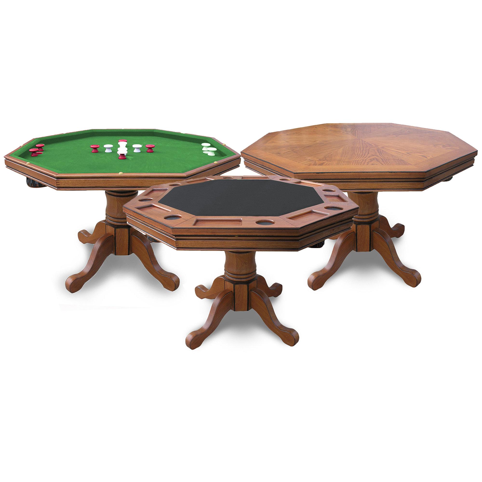 Hathaway Games Kingston 48 8 Player Poker Table Reviews Wayfair